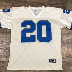 Vintage Barry Sanders XL #20 Detroit Lions Jersey